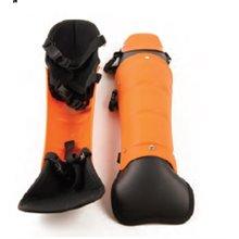 Espinillera de protección profesionales Motogarden