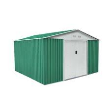 Caseta metálica 11,95m² bedford verde Gardiun