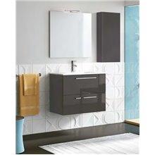 Mueble de baño con lavabo cerámico 80cm Easy Royo