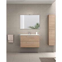 Mueble de baño con lavabo cerámico 100cm Easy Royo