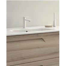 Mueble de baño 2 cajones con lavabo cerámico de...