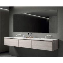 Mueble Life 151 cm con 3 cajones CON LAVABO B10