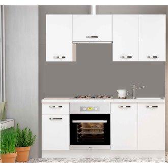 Cocina London blanca 180 cm IberoDepot