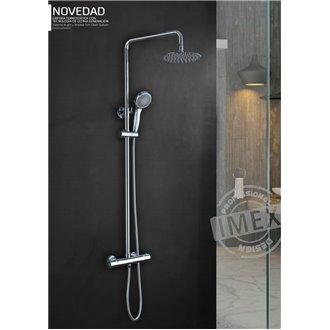 Conjunto de ducha termostática Kent IMEX