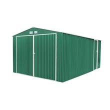 Garaje metálico 20,52m² Oxford verde Gardiun