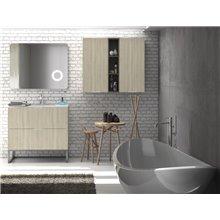 Mueble con lavabo Tíber TEGLER