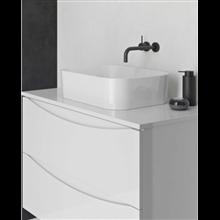 Mueble de baño con lavabo cerámico sobre encimera 70cm Love Royo
