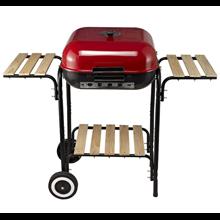Barbacoa de carbón con ruedas - Outsunny