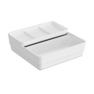 Container doble con tapa B-smart BATH+