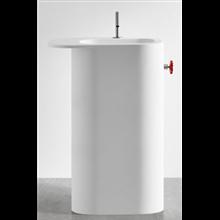 Lavabo Olimpia pedestal H90 Resigres