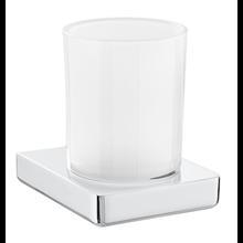 Portavaso y vaso de pared TEMPO - ROCA