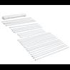 Carpa blanca impermeable de 3 x 3 m Outsunny