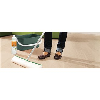 Limpiador Parquet CLEAN & GREEN Aqua Oil white