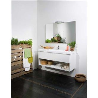 Mueble Life 1 cajón y 1 estante CON LAVABO B10