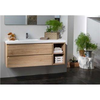 Mueble Life 2 cajones + módulo CON LAVABO B10