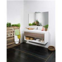 Mueble Life 1 cajón y 1 estante sin lavabo B10