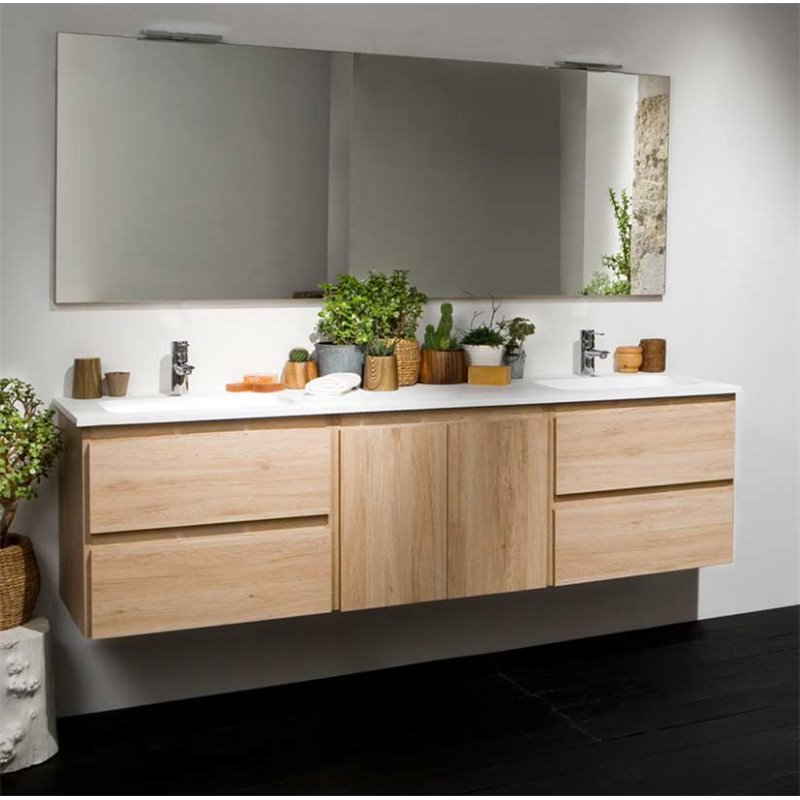 Mueble Life de 180 cm sin lavabo B10