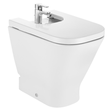 Bidet comfort adosado a pared The Gap Square Roca