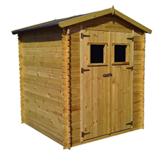 Caseta de madera 5,52m² Alexander II Gardiun