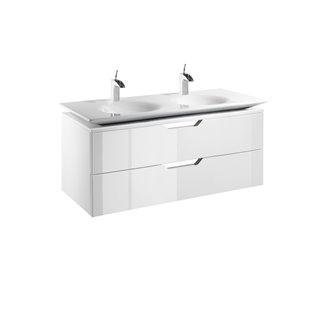 Mueble 120cm blanco y lavabo Kalahari Roca
