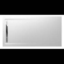 Plato de ducha 200x100cm blanco Aquos Roca