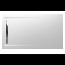 Plato de ducha 180x100cm blanco Aquos Roca