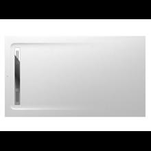 Plato de ducha 160x90cm blanco Aquos Roca