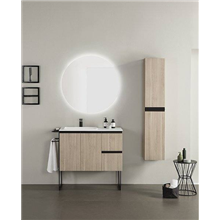 Mueble de baño con lavabo mineralmarmo 120cm...