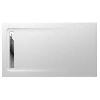 Plato de ducha 140x80cm blanco Aquos Roca