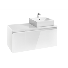 Mueble 110cm blanco brillo Heima Roca