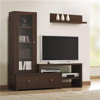 Mueble de televisón vitrina Iberodepot