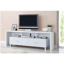Mueble de televisón 2 cajones blanco Iberodepot
