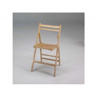 Silla plegable madera wengue IberoDepot