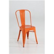 Silla industrial naranja IberoDepot