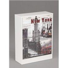 Zapatero 2 puertas diseño New York Iberodepot