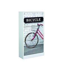Zapatero 3 puertas diseño bicicleta Iberodepot