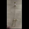 Kit de ducha bimando estilo vintage TRES-CLASIC