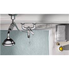 Grifo monomando para bañera y ducha TRES-CLASIC