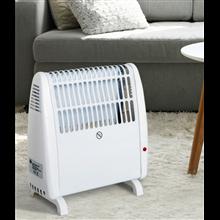 Calefactor eléctrico 27,5x12,7x27,5cm Homcom