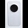 Calefactor eléctrico 92x46x24,5cm blanco Homcom