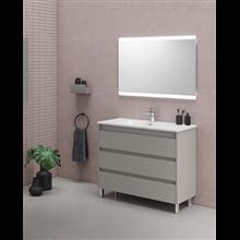 Mueble de baño 3 cajones con lavabo cerámico Sansa Royo