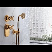 Set de grifería termostática para bañera Clasic Tres