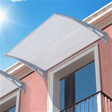 Marquesina de techo para ventanas - OUTSUNNY