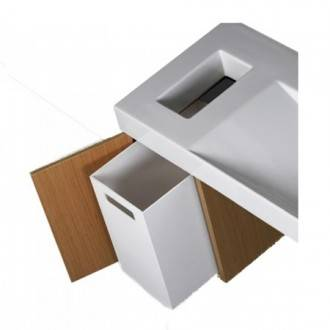 Mueble FLUX con cesta