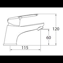 Grifo de lavabo ELEGANCE 60 - CLEVER