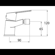 Grifo de bidé XTREME mixer - CLEVER