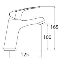 Grifo de lavabo URBAN 100 CLEVER