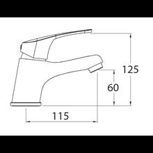 Grifo de lavabo URBAN 60 - CLEVER