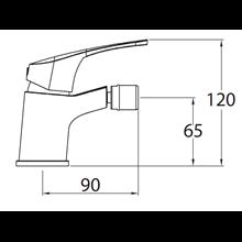 Grifo de bidé URBAN mixer - CLEVER