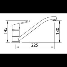 Grifo de fregadero Urban horizontal - CLEVER